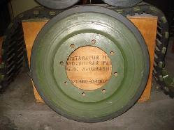 Wheels for war tanks Rubber products manufacturers